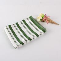 White And Green Kitchen Tea Towels , Printed House Kitchen Dish Cloths
