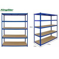 China Commercial Boltless Shelving System Adjustable 120 L X 40W X 180 Hcm on sale