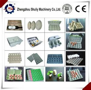 China egg tray making machine/ fruit tray forming machine line on sale