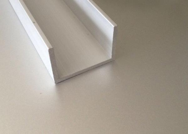 Quality 6061 T6 Extruded Aluminum Window Channel 5 - 20 um Anodized Film Thickness for sale