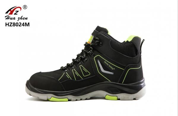 Quality Middle Cut Sport Style Safety Shoes Comfortable Alkali Resistant For Labor for sale