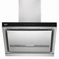 China 80cm Stainless Steel Vented Range Hood with 170W Input Power, 220 to 240V at 50Hz Voltage on sale