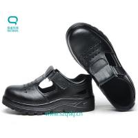 China Good quality and beautiful blackESD safety shoes for summer made of PU can buy from China online on sale
