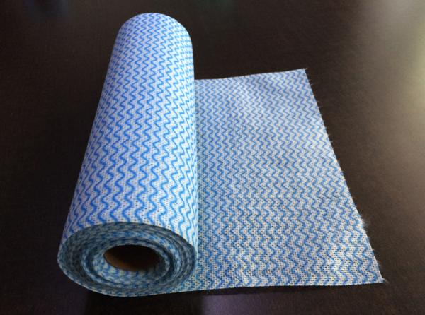 Quality Household Spunlace Nonwoven Wipes / Disposable House Cleaning Wipes for sale