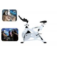 China Fitness 9D Virtual Reality Bike RideRacing Game Machine For Losing Weight wholesale