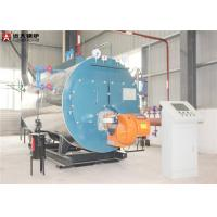 Horizontal 2 Ton Industrial Steam Boiler , Diesel Oil Fired Steam Boiler