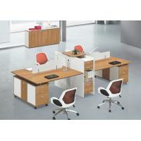 China modern 4 persons office table workstation in warehouse in Foshan wholesale