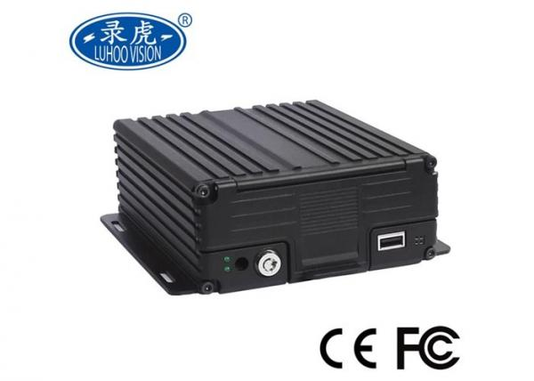Quality HDD AHD 4ch Mobile DVR , Custom Cctv DVR Recorder Short Circuits Protection for sale