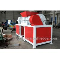 China Wood Window Frame Industrial Waste Shredder With Magnetic Separation System wholesale