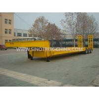 China 13.5M Low-bed Semi-trailer  3 PCS BPW axles 315/80R22.5 tyres  ABS  Optional wholesale