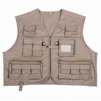 China Fishing Vest, T/C Material  wholesale