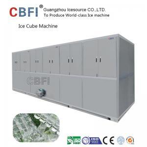China Air Cooled Cube Ice Making Machine Large Capacity 3000Kg /24h wholesale