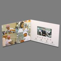 China OEM Thinnest LCD Video Brochure Card , Touch Screen Video Greeting Card wholesale