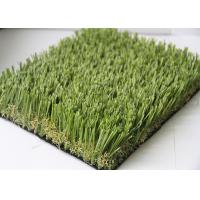 China High Elasticity Soccer Outdoor Fake Grass Carpet 20MM - 45MM Pile Height wholesale
