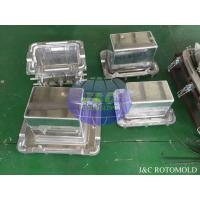 China Aluminum Rotational Molds With Mirror Surface Treatment , Ice Boxes Roto Moulder wholesale