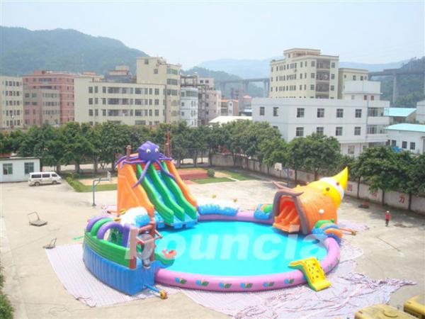 Inflatable Water Park Tube Images