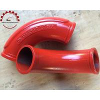 China Concrete Pump Elbow Dn125 on sale