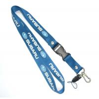 China 1 Side Multicolor Nylon Cell Phone Neck Lanyard Eco Friendly 20 X 800 + 100 mm wholesale