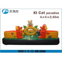 China hello kitty jumping bouncer small fun city for kids wholesale