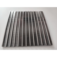 China Support Wire 2*3 Mm Wrap Wire 1.5*2.5mm 0.07 Slot Stainless Steel 316 L Wedge Wire Filter Screen Plates wholesale