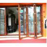 China 75 series  aluminum bi folding doors wholesale