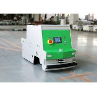 1000kg Towing AGV Warehouse Automation , Tugger Type AGV Mobile Rail Guidance