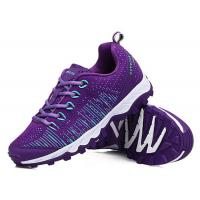 China Fashion Fliknit fly woven Anti kick outdoor running sports shoes students