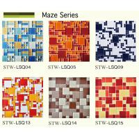 China Fashionable decorative wall maze glass mosaic tiles wholesale