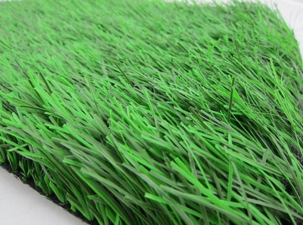 Quality Two Colors Natural Artificial Grass With 50mm Height For Football And Soccer for sale