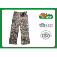 China Outdoor Womens Fashion Hunting Camo Pants , Army Camo Pants For Women wholesale