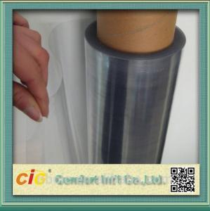 China Transparent 100 PVC Self Adhesive Film , Cold Lamination PVC Decorative Film wholesale