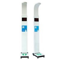 China ultrasonic probe height measure weight digital scale with rs232 serial port wholesale