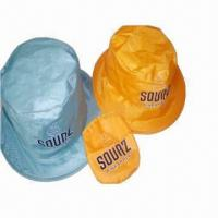 China Visor/Promotional Hats with Thin Nylon Fabric, Lightweight and Comfortable wholesale