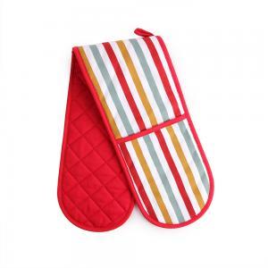 Buy cheap Gants résistants à la chaleur de four de coton professionnel 17,5 * 80cm pour le from wholesalers