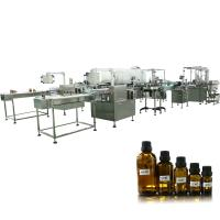 China Hot sale hemp oil filling capping labeling machine,cbd oil filling machine from shanghai paixie wholesale