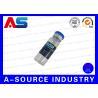 China Medicine Steroid Bottle Labels , Sterile Glass Vials Label Sticker wholesale