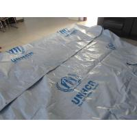 China Reinforced Plastic Tarpaulin Plastic Sheets/Rolls on UN/MSF/IFRC specifications on sale
