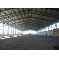 China Eco Friendly Steel Frame Storage Buildings With Sandwich Panel Wall Versatility wholesale