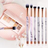 China Marble Makeup Brush Collection Set, Marble Makeup Brushes, New 10 Pcs Brush Set wholesale