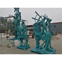 China Bronze sculptures for American artist , customized bronze sculpture for exhibition ,China bronze sculpture supplier wholesale