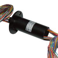 China 6mm Through Hole Rotary Slip Ring Of 36 Circuits For Flexible Capsule Crane on sale