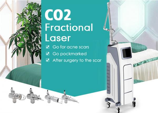 Quality Co2 Fractional Laser Machine 30w Surgical Vaginal Tightening Device 10600nm for sale