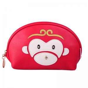 China Portable L21.5*D8*H13 Cm  Ziplock PU Cosmetic Bag wholesale