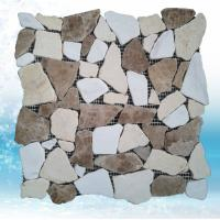 China natural marble stone mesh tile for home decoration wholesale