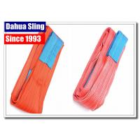 China Customized Length Crane Lifting Slings , Industrial Lifting Straps 5000kg Capacity wholesale