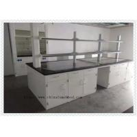 China Wear - Resistant Chemical Laboratory Furniture  With Cabinets Off - White Color on sale