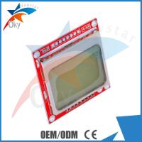 China module for Arduino , Nokia 5110 LCD Module With White Backlight RED PCB for Arduino wholesale