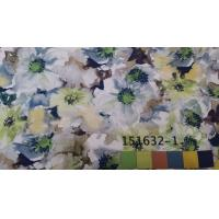 China Floral Weave Heat Transfer Digital Printing Fabric Color Separated HS CODE 5407540020 wholesale