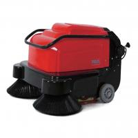 China Hand Push Robot Floor Sweeper One Button Operation For Vacuum Cleaning on sale