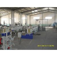 China PVC Conduit Plastic Pipe Extrusion Line , UPVC / CPVC Water Pipe Plastic Extruder on sale